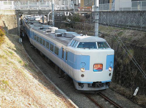 八トタ189系「M50」編成(2014年1月26日・大月~上大月間)