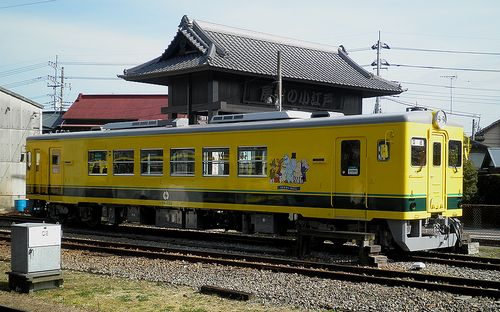 いすみ鉄道・いすみ352(2014年2月7日・大多喜駅)