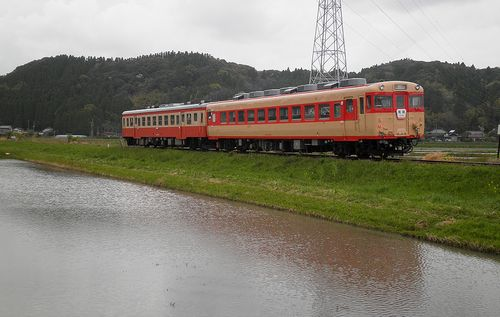 いすみ鉄道・キハ52 125+キハ28 2346(2013年4月6日・西大原~上総東間)2
