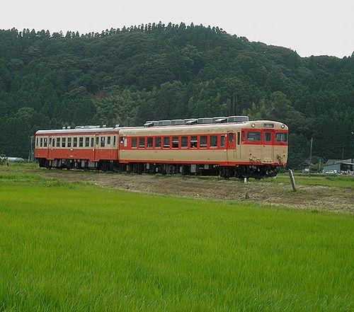 いすみ鉄道キハ28 2346+キハ52 125(2013年6月30日・西大原~上総東間)2