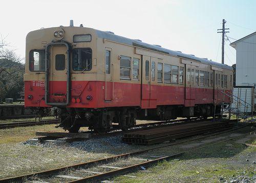 いすみ鉄道キハ30 62(2014年2月7日・国吉駅)