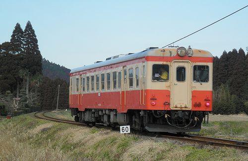 いすみ鉄道キハ52 125(2014年2月7日・大多喜~小谷松間)2