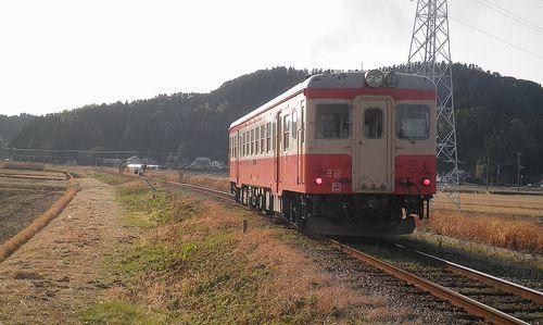 いすみ鉄道キハ52 125(2014年2月7日・西大原~上総東間)4