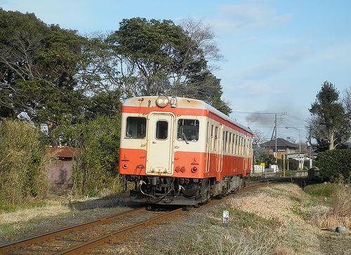 いすみ鉄道キハ52 125(2014年2月7日・西大原~上総東間)3