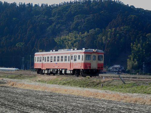 いすみ鉄道キハ52 125(2014年2月7日・西大原~上総東間)2