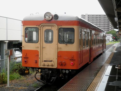 ひたちなか海浜鉄道キハ205(2011年7月19日・勝田駅)