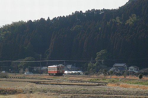 いすみ鉄道キハ52 125(2014年2月7日・西大原~上総東間)1
