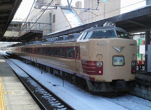 新ニイ485系「T18」編成(2014年2月10日・本庄駅)3