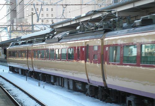 新ニイ485系「T18」編成(2014年2月10日・本庄駅)2