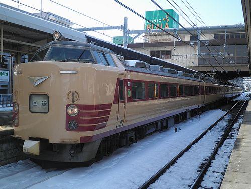 新ニイ485系「T18」編成(2014年2月10日・本庄駅)4