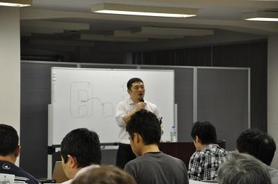 私の講義風景