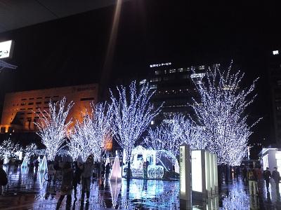 博多駅前風景