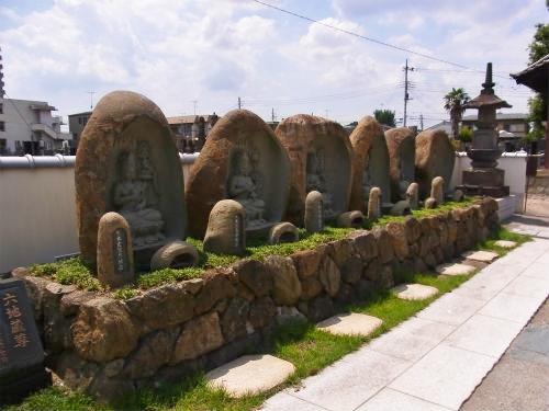 法要寺六地蔵