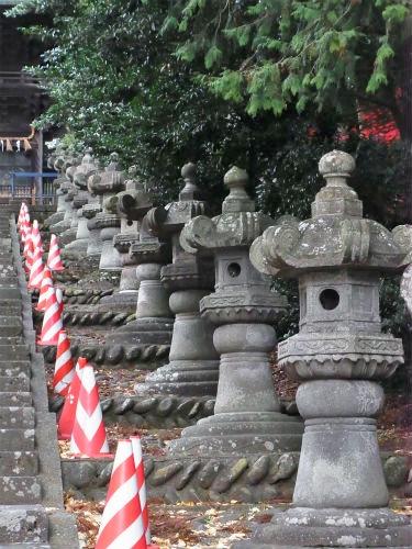 仙台東照宮石灯篭