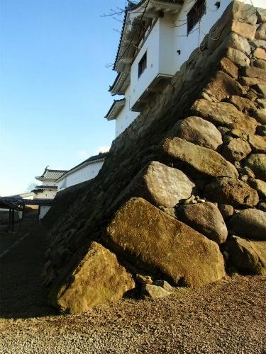 白石城天守台石垣