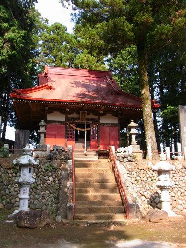 霞野神社拝殿