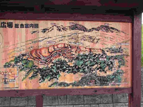富士見城縄張り