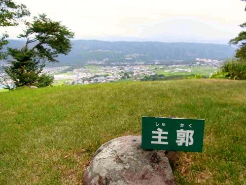 富士見城主郭