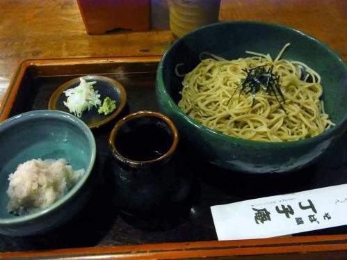 丁子庵の蕎麦