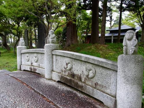 日吉八幡神橋