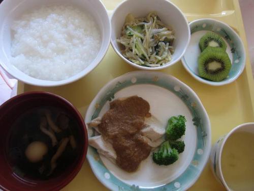 腸炎中の食事2