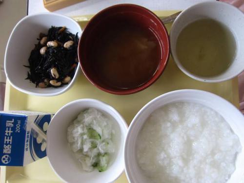 腸炎中の食事3