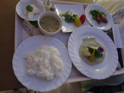 出産直後の夕食