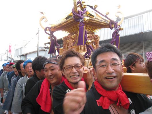 2012胎内市民みこし 荒誠會 青龍會 北粋會