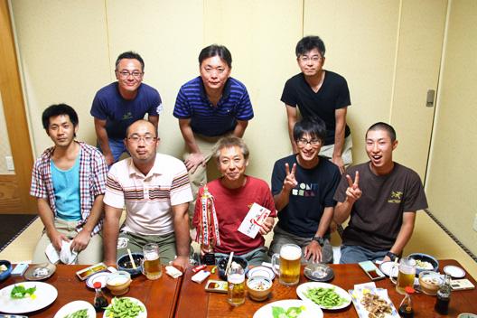 2012笹川流れ烏賊釣り大会 「イカップ」 アオリイカ
