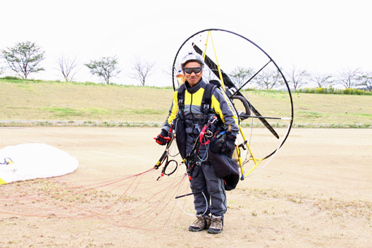 2012JPMAパラモーター日本選手権 FLY&FUN IN 新潟 優勝