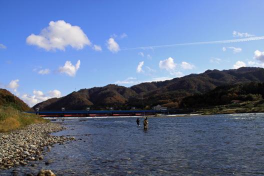荒川サーモンフィッシング2012 鮭釣り