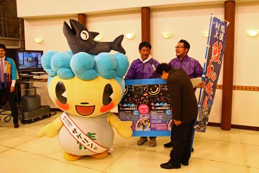 きらきらフェスティバル2012 TeNY新潟一番テレビ伝言板 村上