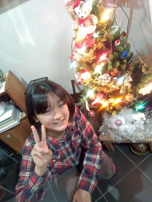 クリスマスツリー 萌