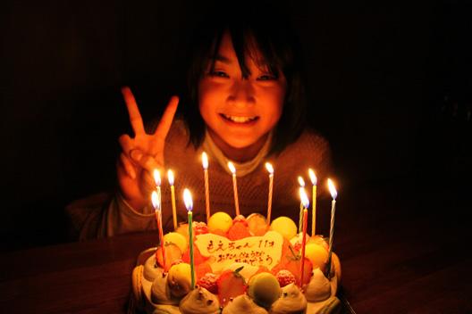 萌 11歳誕生日