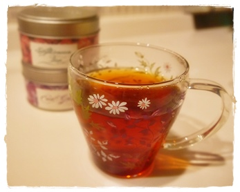 夜更けの紅茶