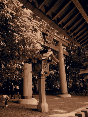 大神神社さんの二の鳥居です。