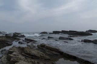 犬吠埼の海岸