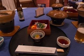 今日は和食のフルコース