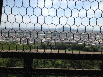 2012 07 17 彦根城 最上階から大津方面