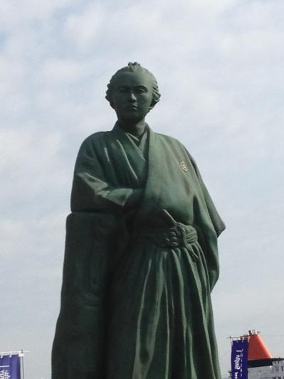 2013 02 28 坂本龍馬像 正面