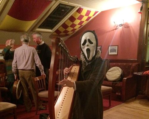 Halloween harp