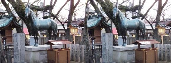 石切神社「イシキリツルギヤ号」(平行法)
