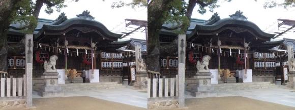 石切神社②(平行法)