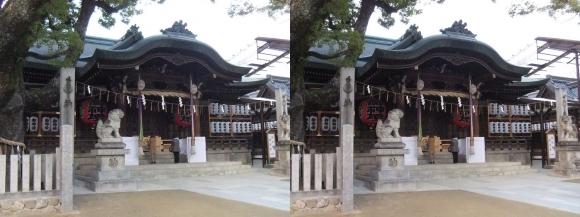 石切神社②(交差法)