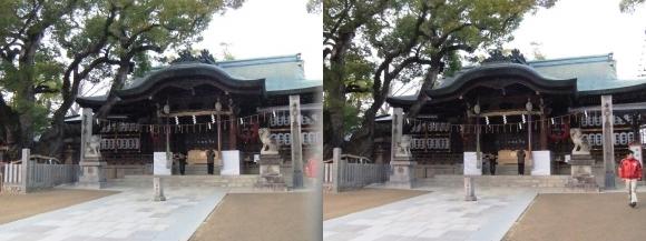 石切神社①(交差法)