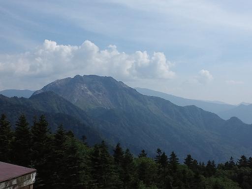 焼岳と乗鞍岳