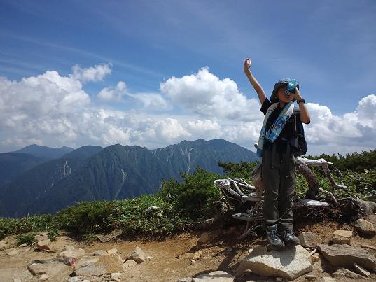 丸山への途中