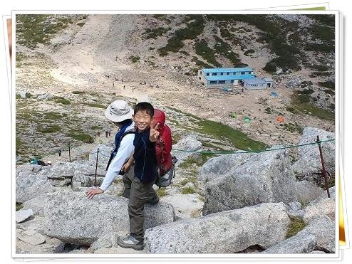 頂上山荘まで