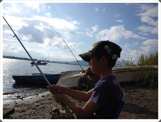 のんびり釣り