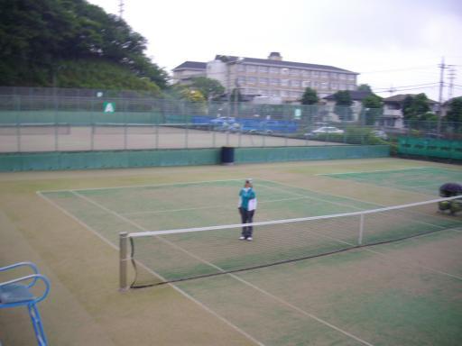 厚木のテニスコート